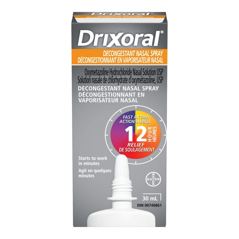 Drixoral Decongestant Nasal Spray - 30ml
