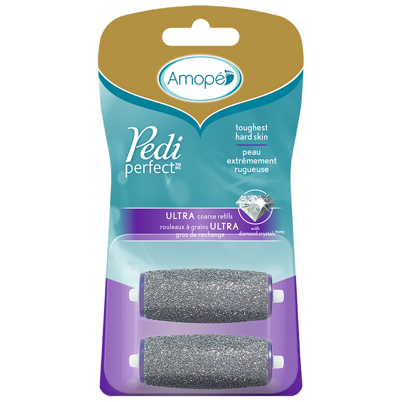 Amope Pedi Perfect Wet&Dry Refills - Regular Coarse- 2's