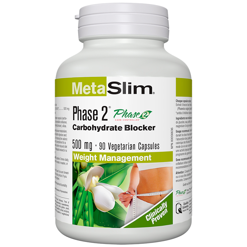 Webber MetaSlim Phase 2 Carbohydrate Blocker - 90's