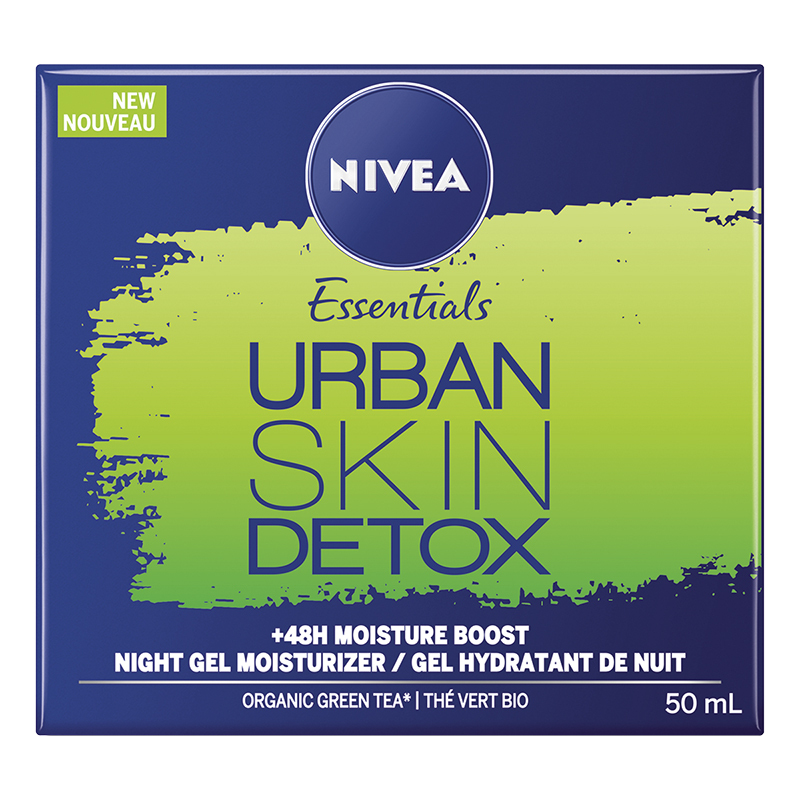 Nivea Essentials Urban Skin Detox Night Gel Moisturizer - 50ml