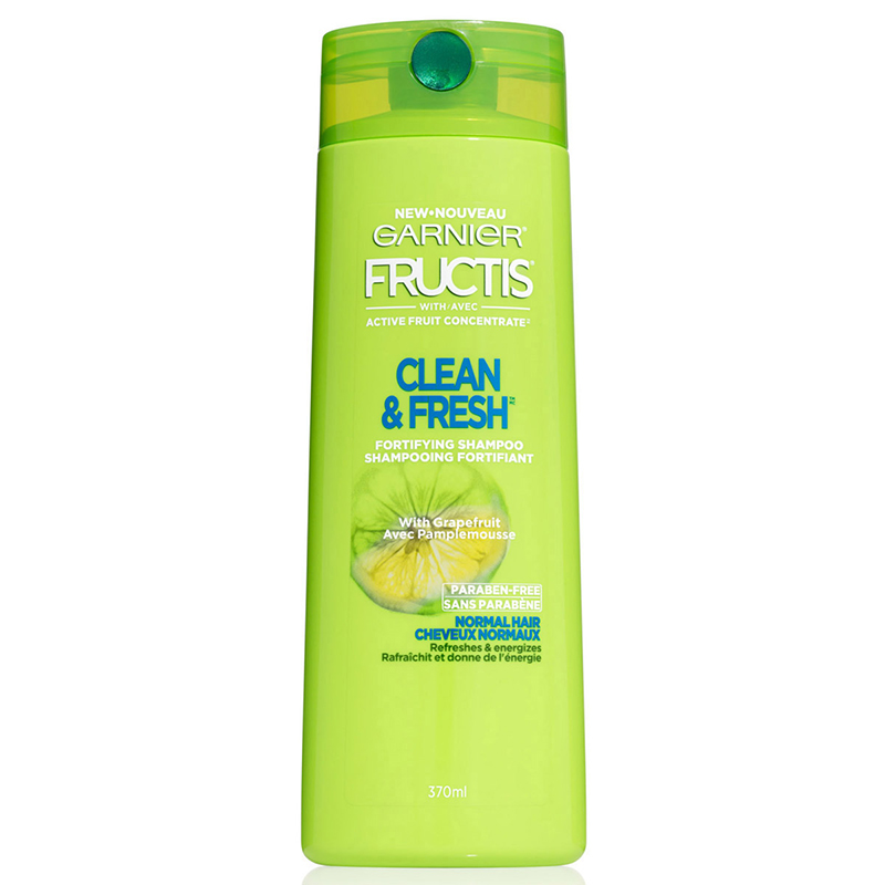 Garnier Fructis Clean & Fresh Shampoo - 370ml