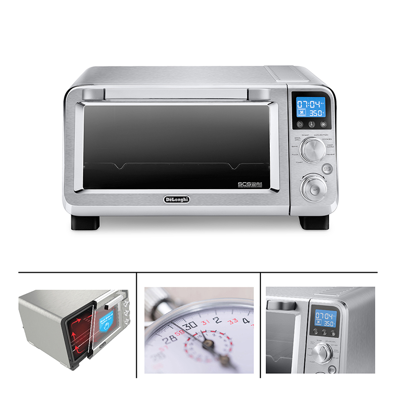 Delonghi Livenza Convection Oven Stainless Steel