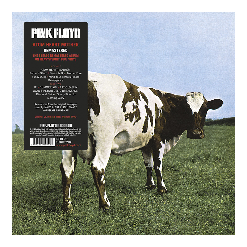 Pink Floyd - Atom Heart Mother (2016) - Vinyl