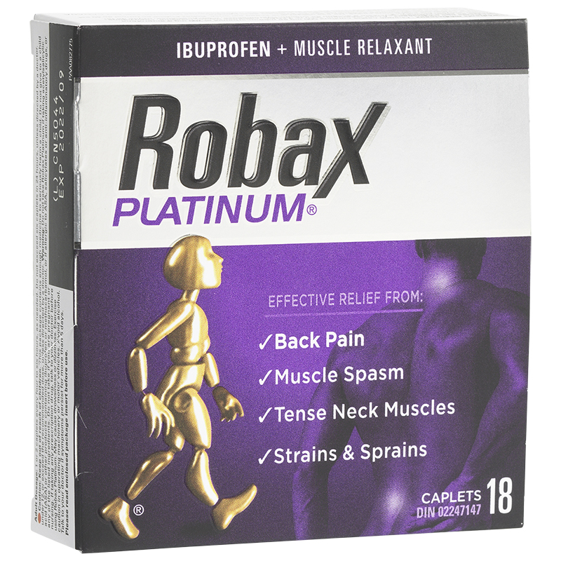 Robax Platinum - 18's