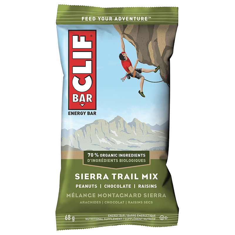 Clif Bar Energy Bar - Sierra Trail Mix - 68g