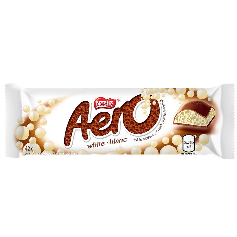 Nestle Aero - White Chocolate - 42g