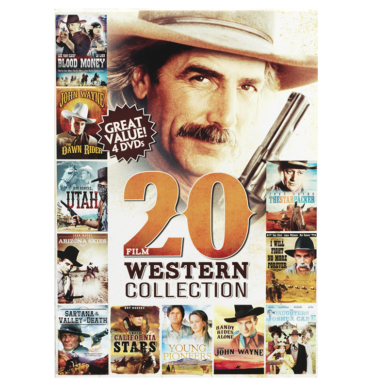 20-Film Western Collection Volume 3 - DVD