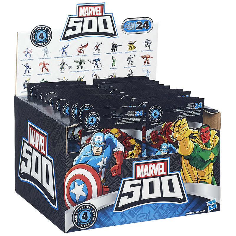 Marvel 500 Micro Figures - Assorted