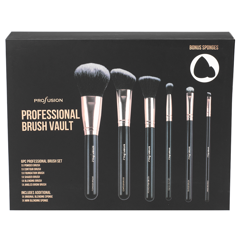 Profusion Professional Brush Vault - 6 piece