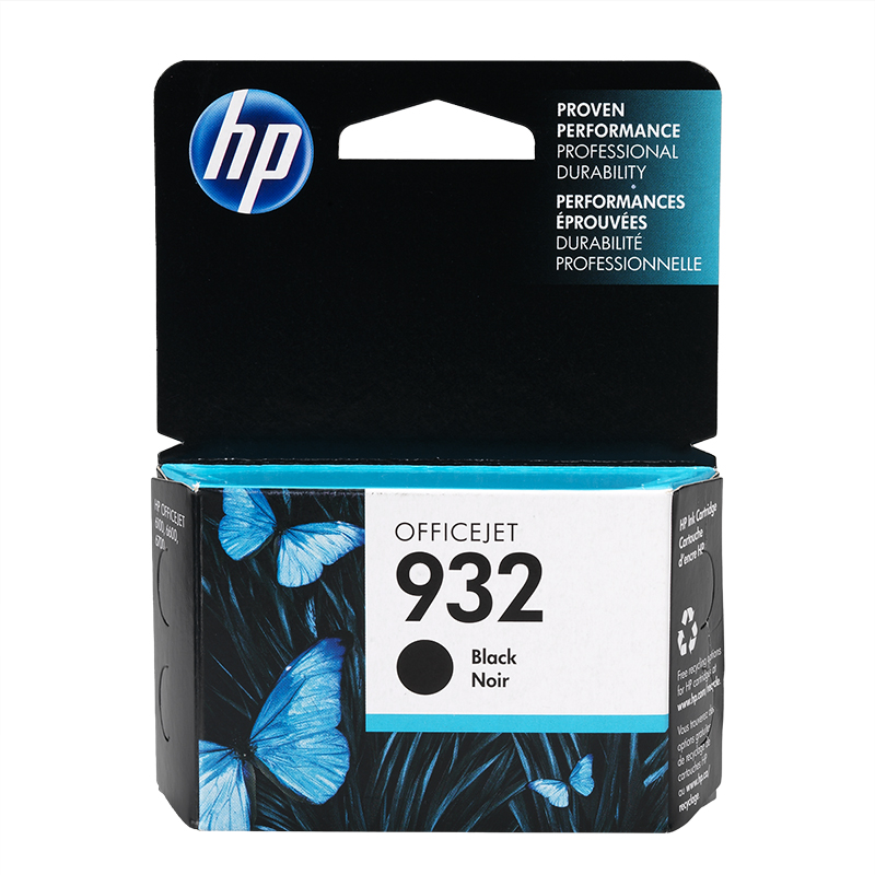 HP 932 Officejet Ink Cartridge - Black  - CN057AN