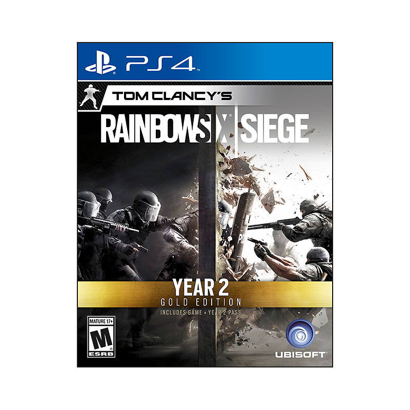 PS4 Tom Clancy's Rainbow Six Siege - Year 2 Gold Edition