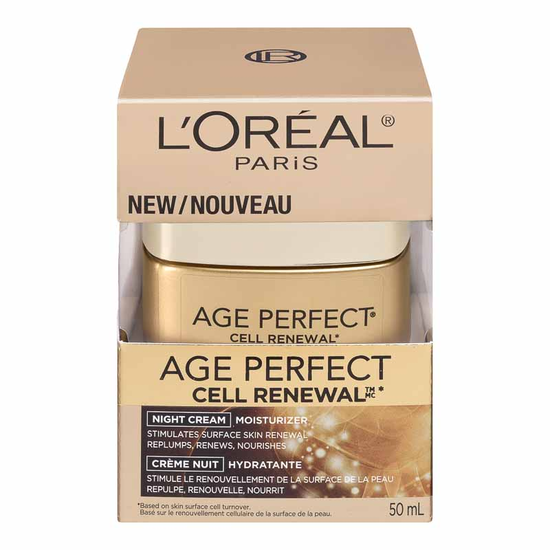 L'Oreal Age Perfect Cell Renewal Moisturizer Night Cream - 50ml
