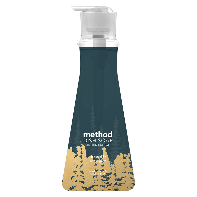 Method Dish Soap - Frosted Fir - 528ml