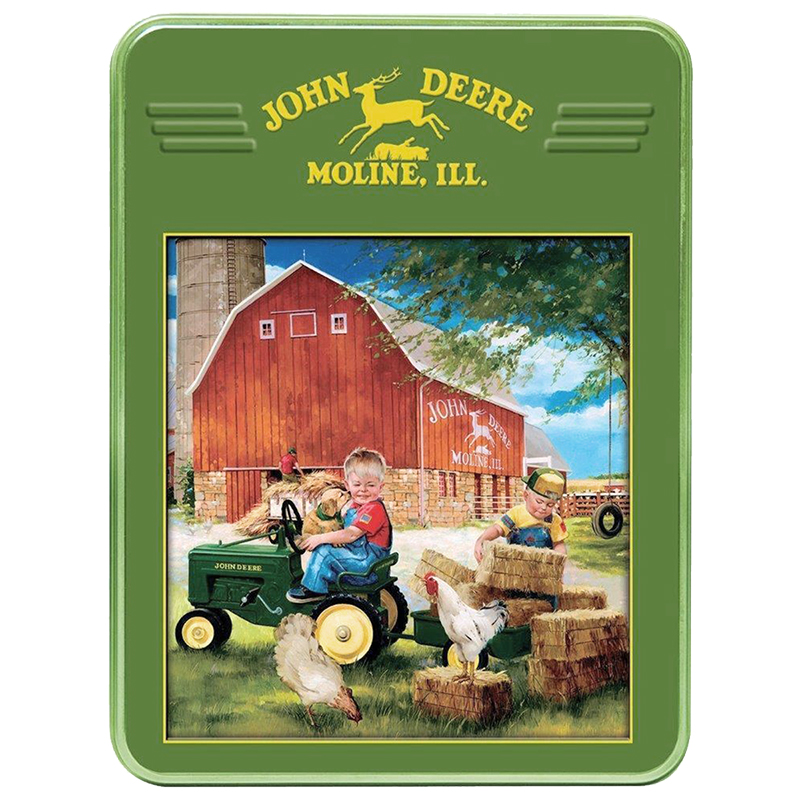 John Deere Country Tin Puzzle - 1000 pieces