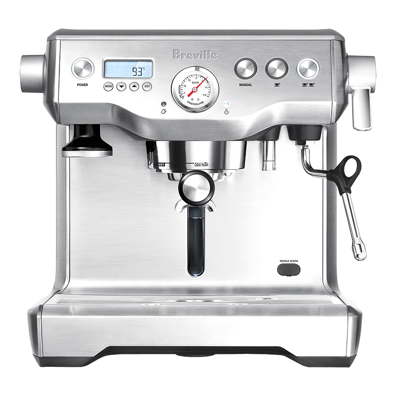 Breville Dual Boil Espresso Maker - Brushed Steel - BES920XL