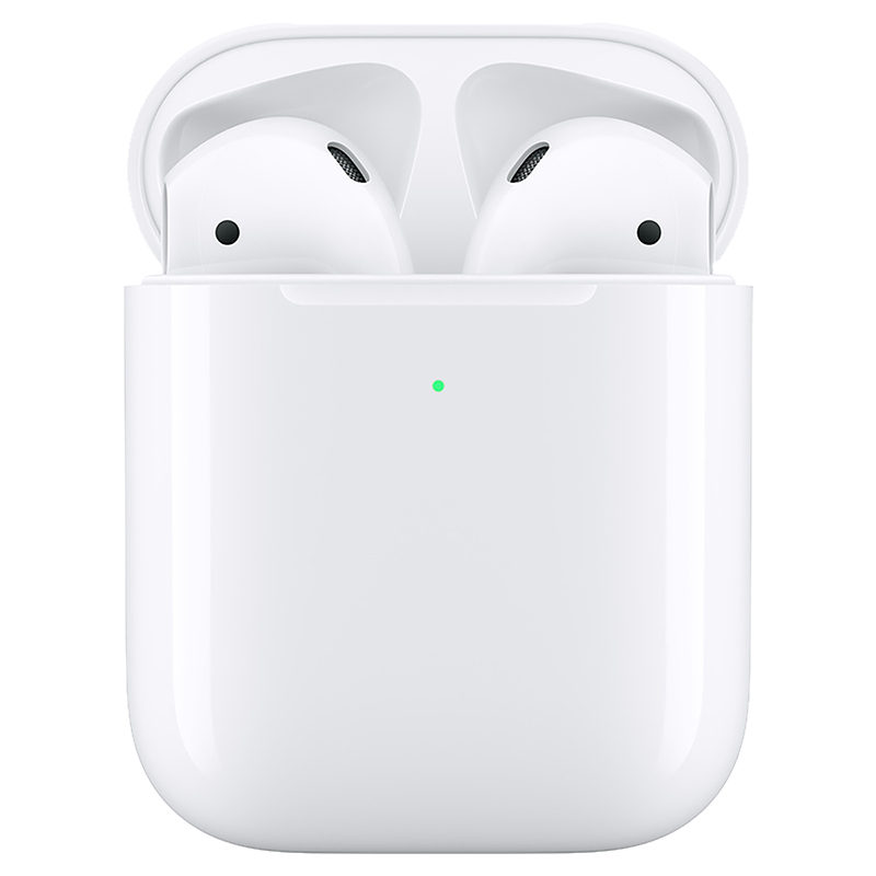 Apple AirPods with Wireless Charging Case - White - MRXJ2AM/A