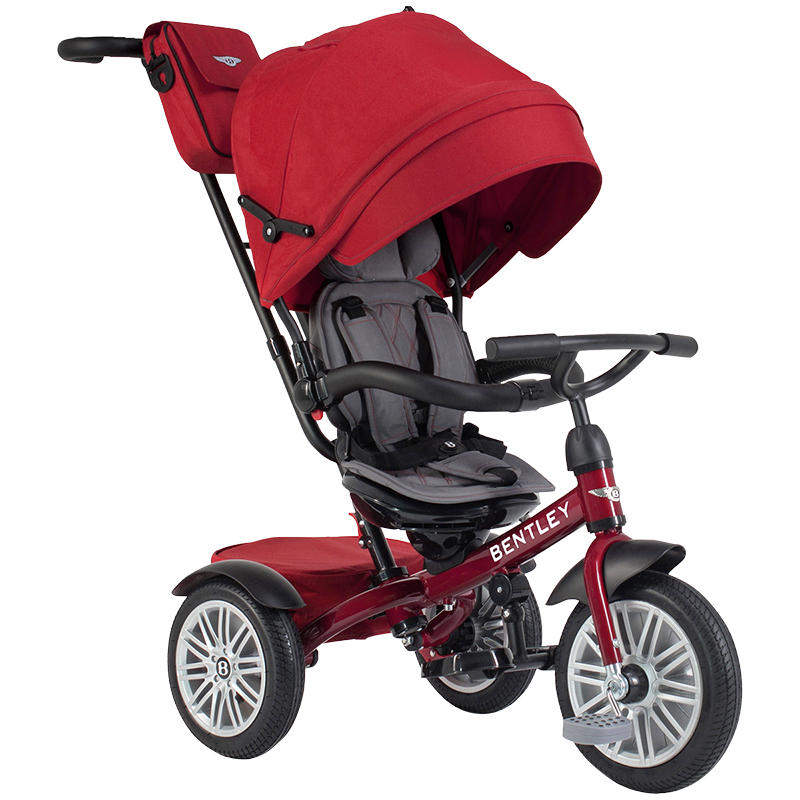 Bentley Tricycle Convertible Stroller - Dragon Red - BN1R