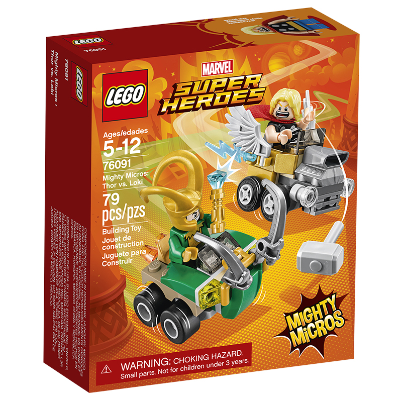 LEGO Marvel Super Heroes - Mighty Micros Thor vs. Loki | London Drugs