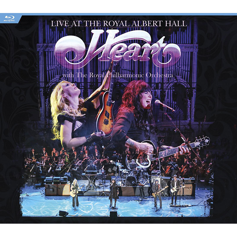 Heart - Live at the Royal Albert Hall with The Royal Philharmonic Orchestra - Blu-ray