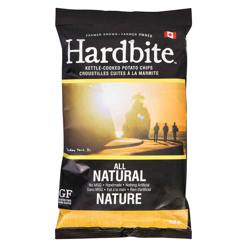 Hardbite Chips - All Natural Chips - 150g