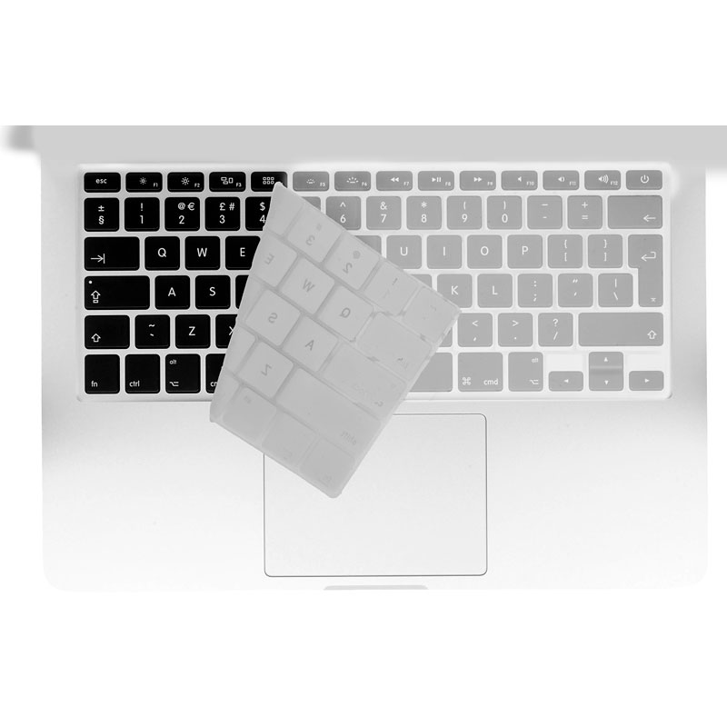 Logiix Phantom Keyboard Shield - MacBook Air 13 and Pro 13/15 - Silver - LGX-12713