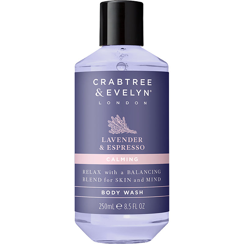 Crabtree & Evelyn Lavender & Espresso Calming Body Wash - 250ml