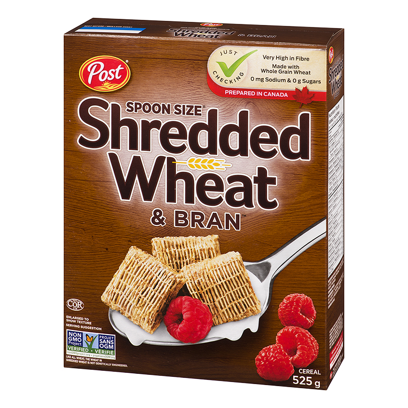 Post Shredded Wheat with Bran - 525g