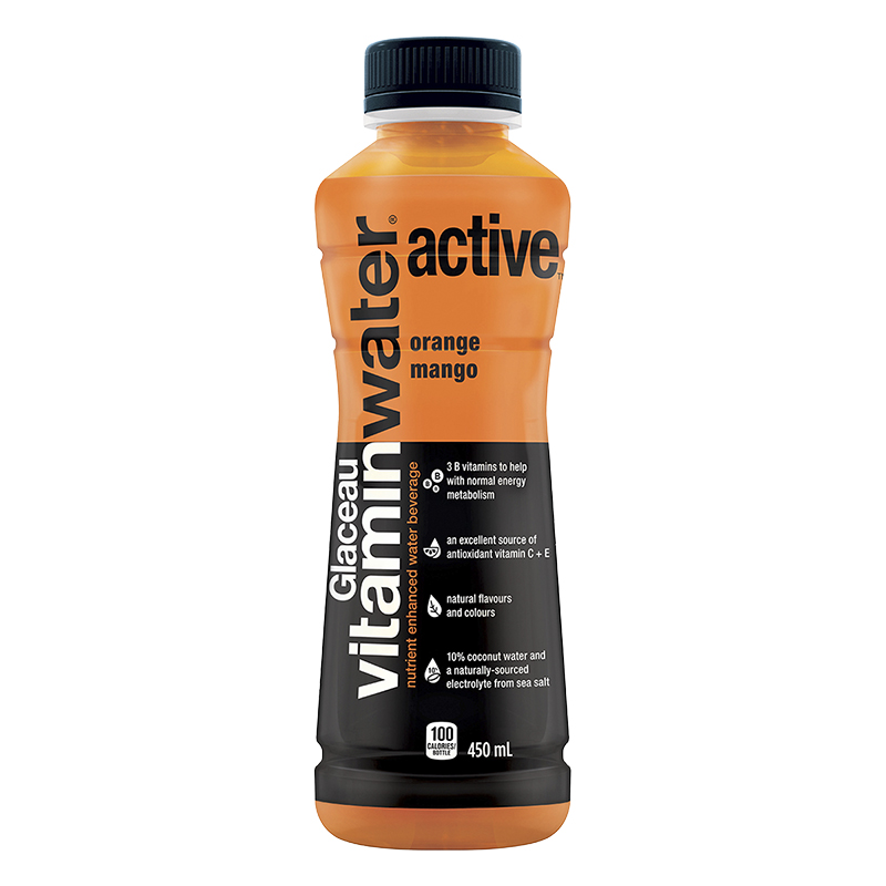 Glaceau Vitamin Water Active - Orange Mango - 450ml