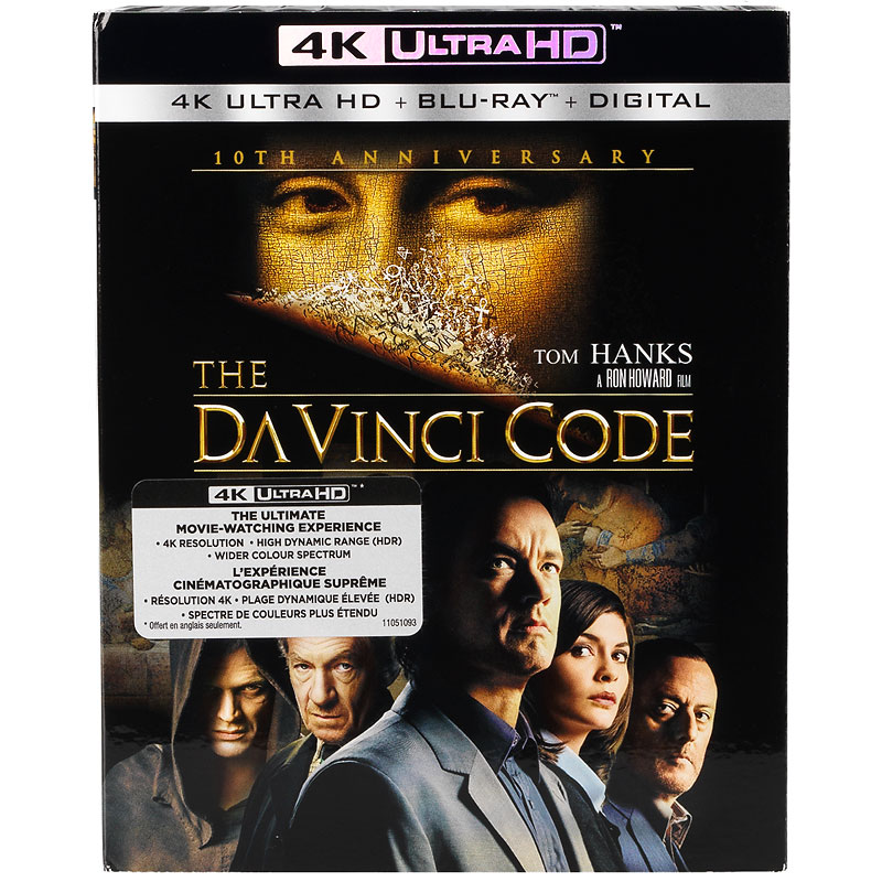 The Da Vinci Code - 4K UHD Blu-ray