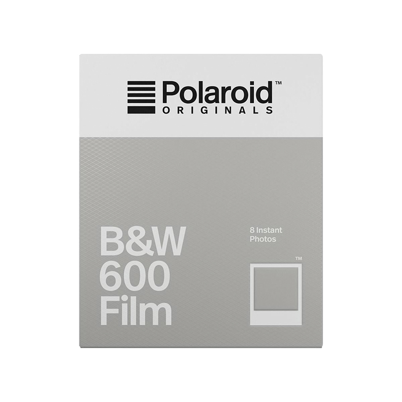 Polaroid Originals B&W 600 Film - 8 Exposures - PRD004671
