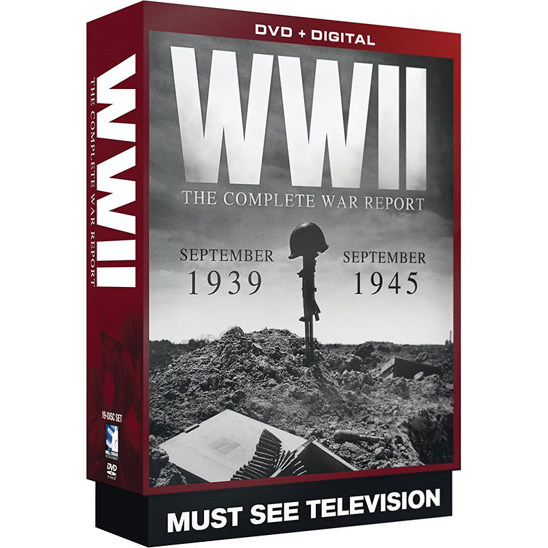 WWII: The Complete War Report - DVD