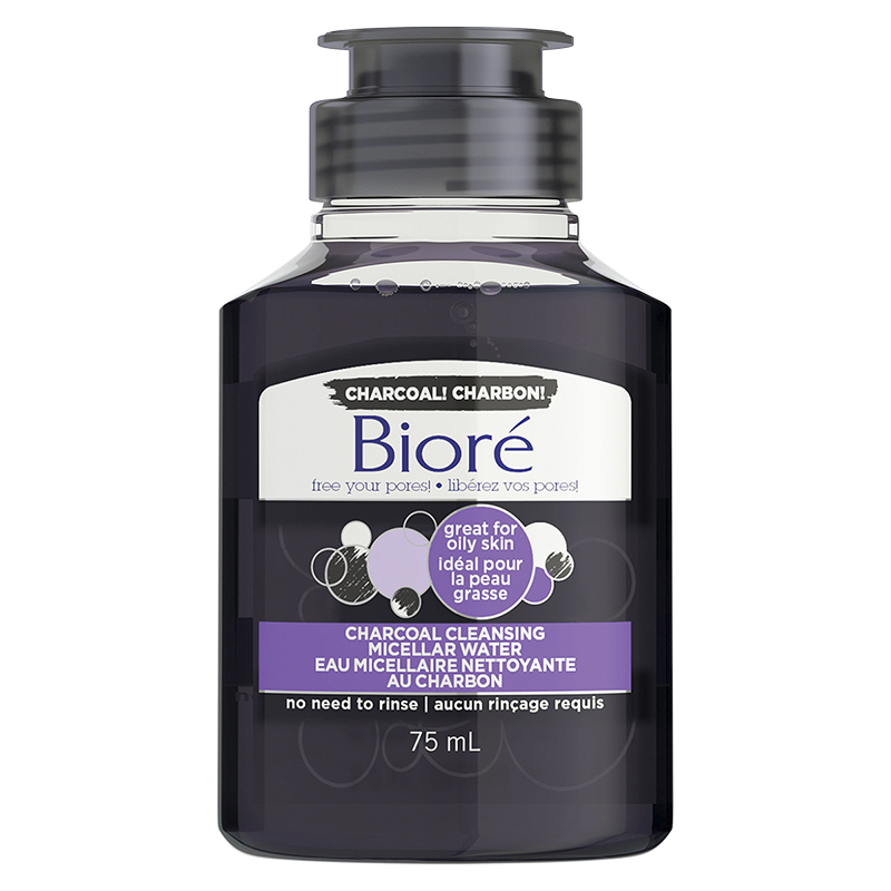 Biore Charcoal Cleansing Micellar - 75ml