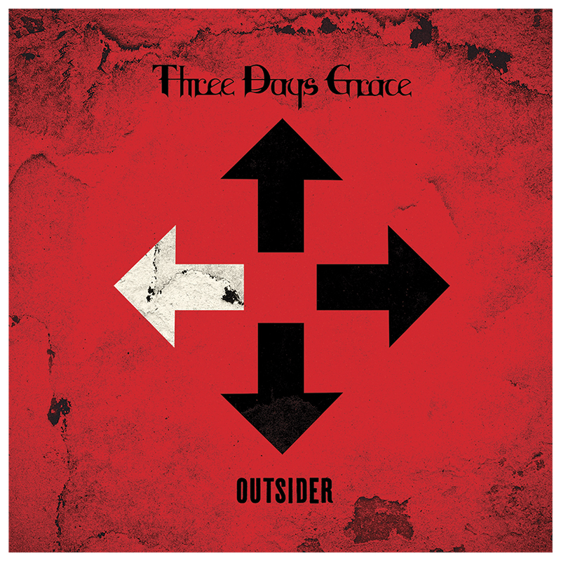Three Days Grace - Outsider - CD