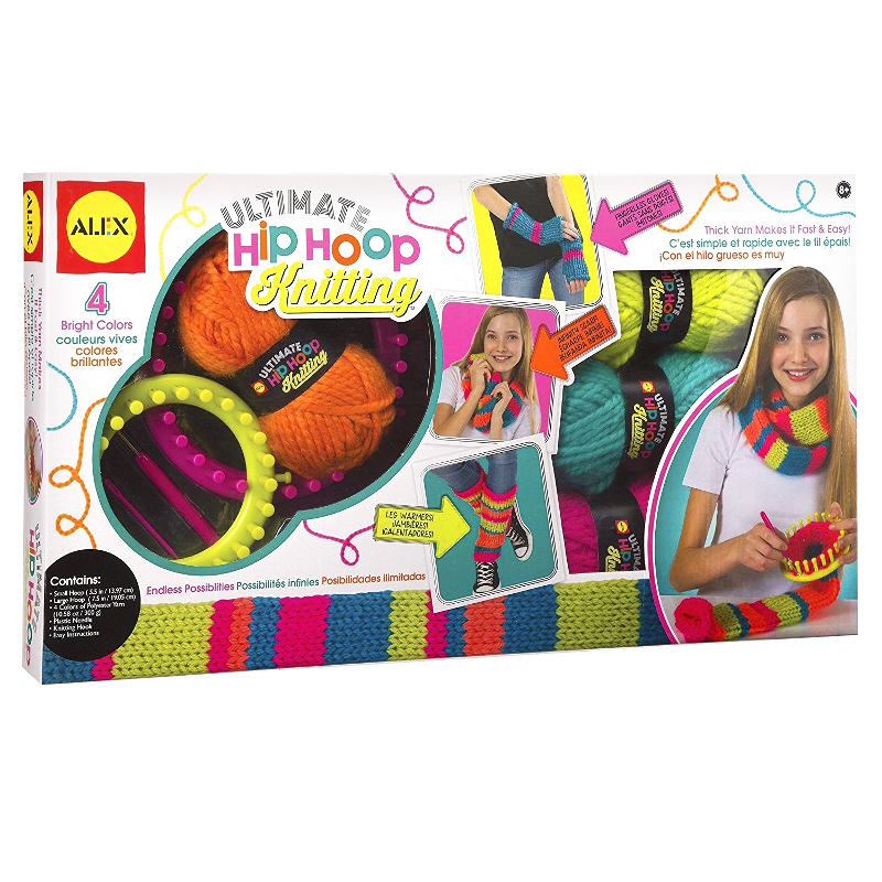 Alex Hip Hoop Knitting Kit