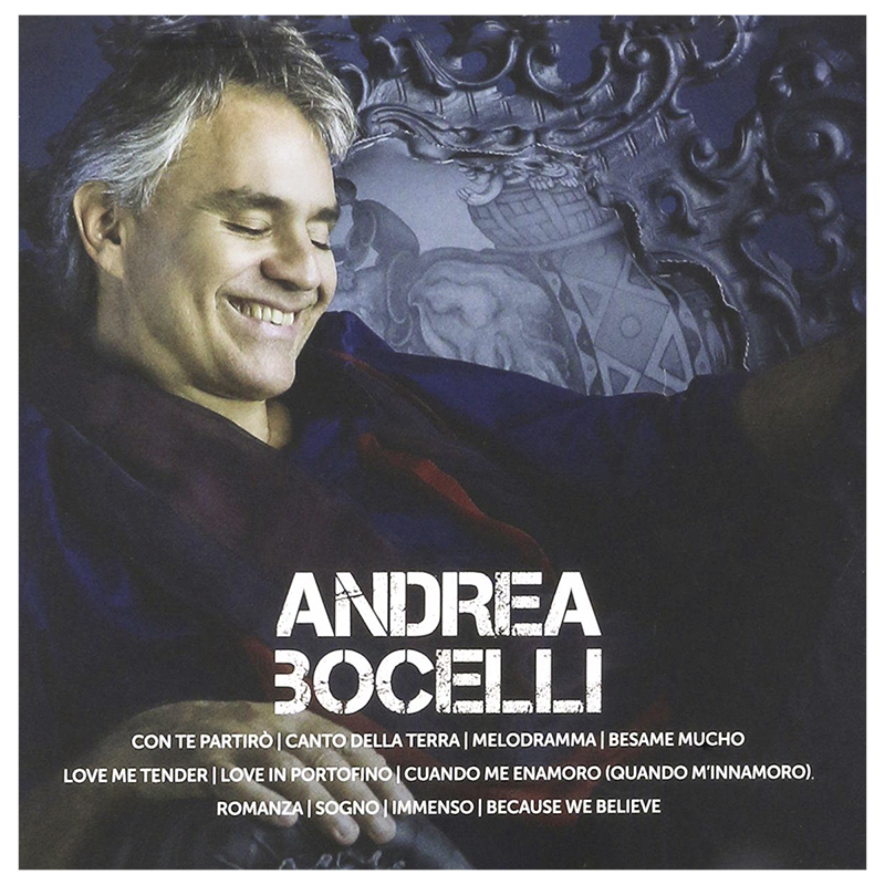Andrea Bocelli - ICON - CD