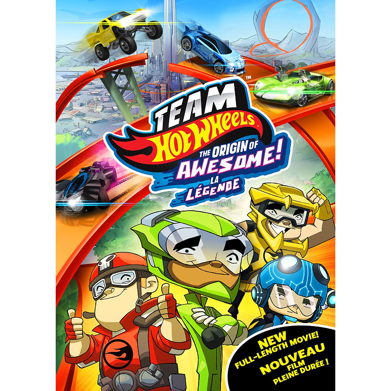 Team Hot Wheels: The Origin of Awesome! - DVD