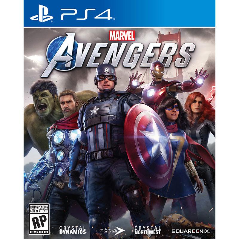 PRE-ORDER: PS4 Marvel's Avengers - 92278