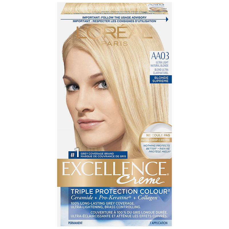 L'Oreal Excellence Creme - AA03 Ultra Light Natural Blonde