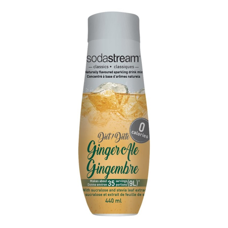 SodaStream Diet Syrup - Ginger Ale - 440ml
