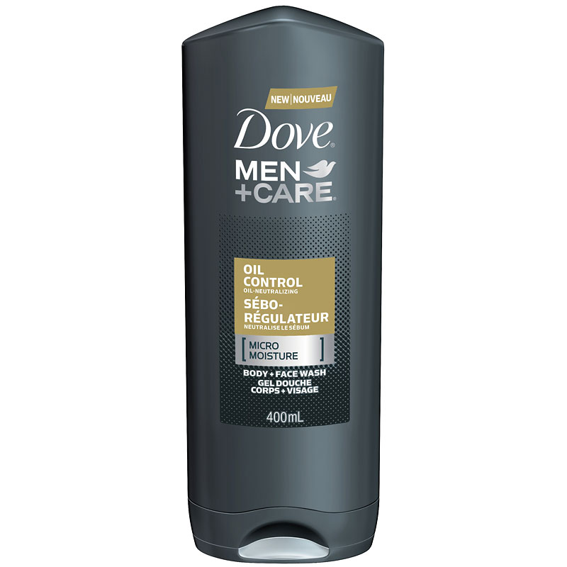 Dove Men +Care Oil Control Micro Moisture Body + Face Wash - 400ml