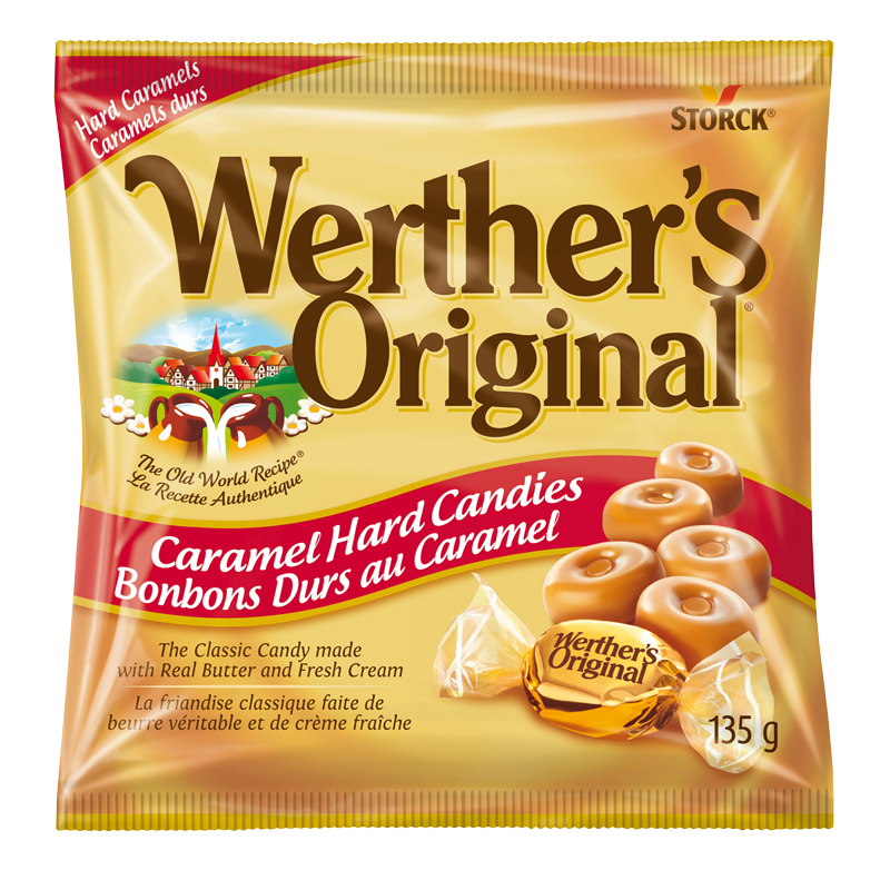 Werther's Original Hard Candy - Caramel - 135g