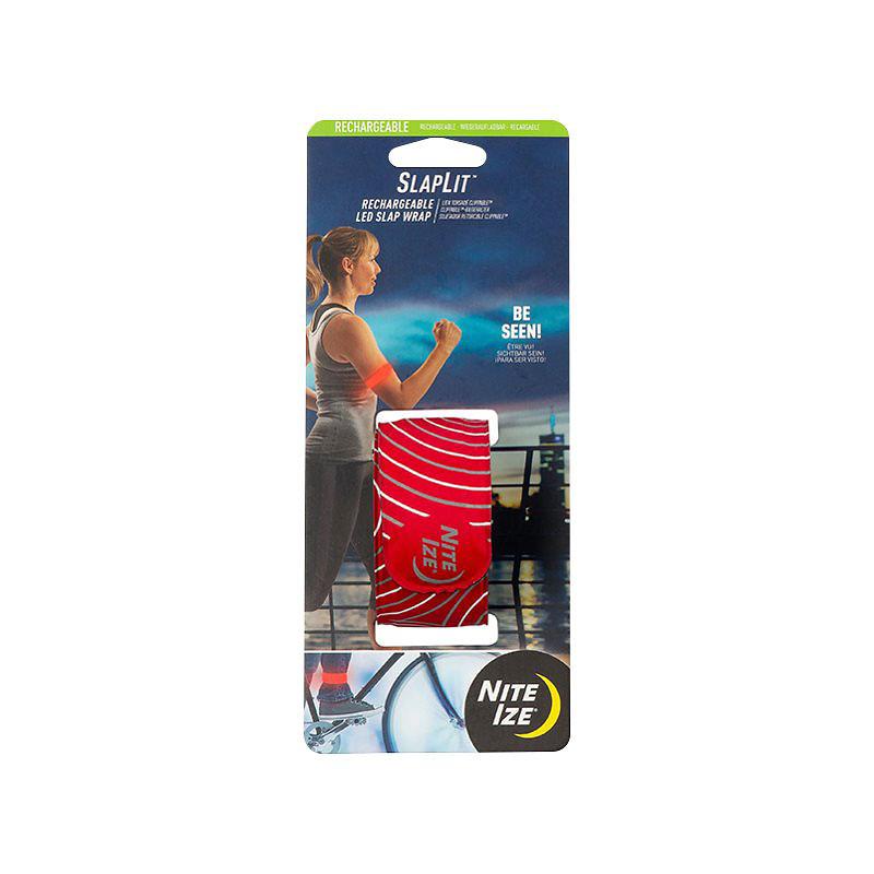 Nite Ize SlapLit LED Rechargeable Slap Wrap - Red | London Drugs