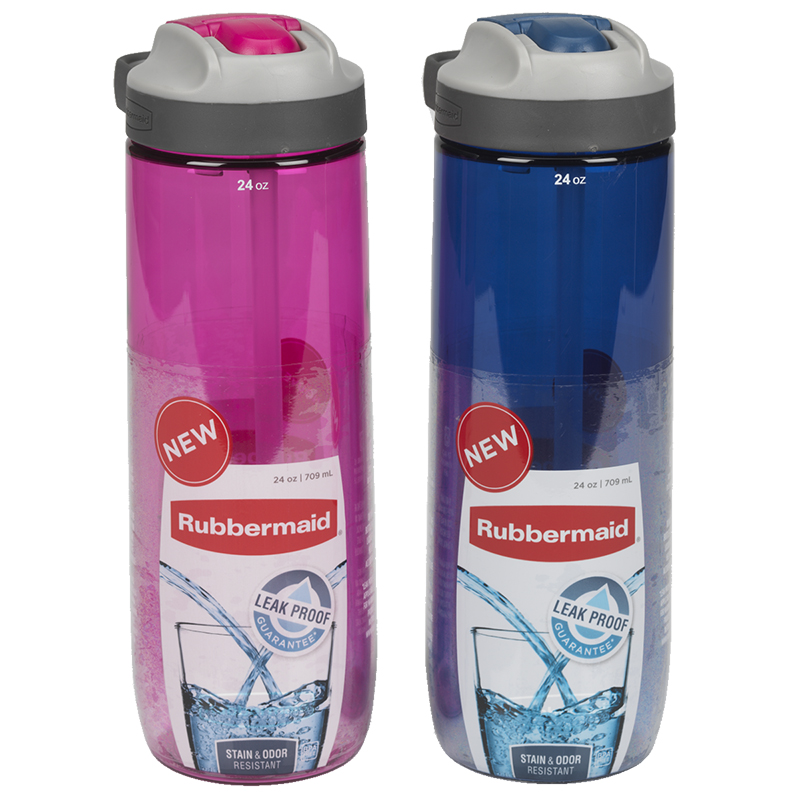Rubbermaid Sip Hydration Bottle - Assorted - 709ml