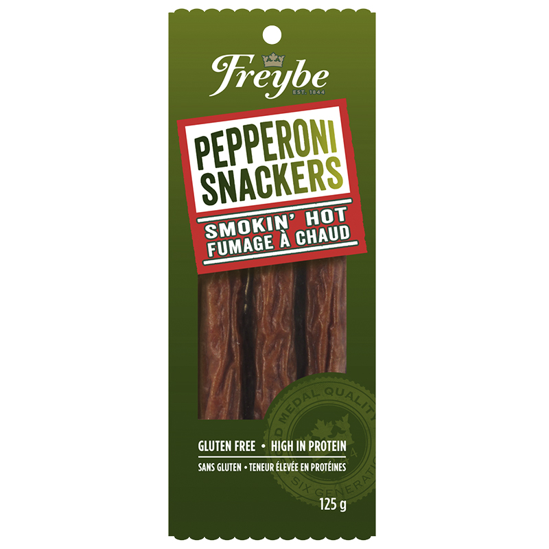 Freybe Pepperoni Snackers - Smokin' Hot - 125g