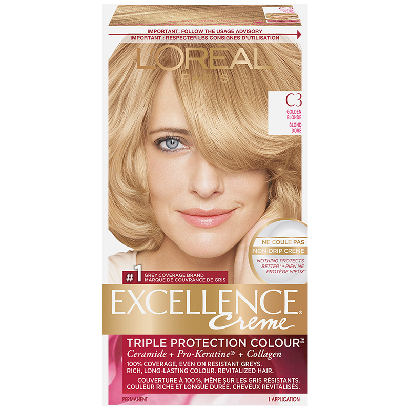 L'Oreal Excellence Creme - C3 Golden Blonde