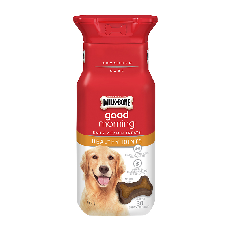 Milkbone Good Morning Daily Vitamins - Healthy Joints - 170g