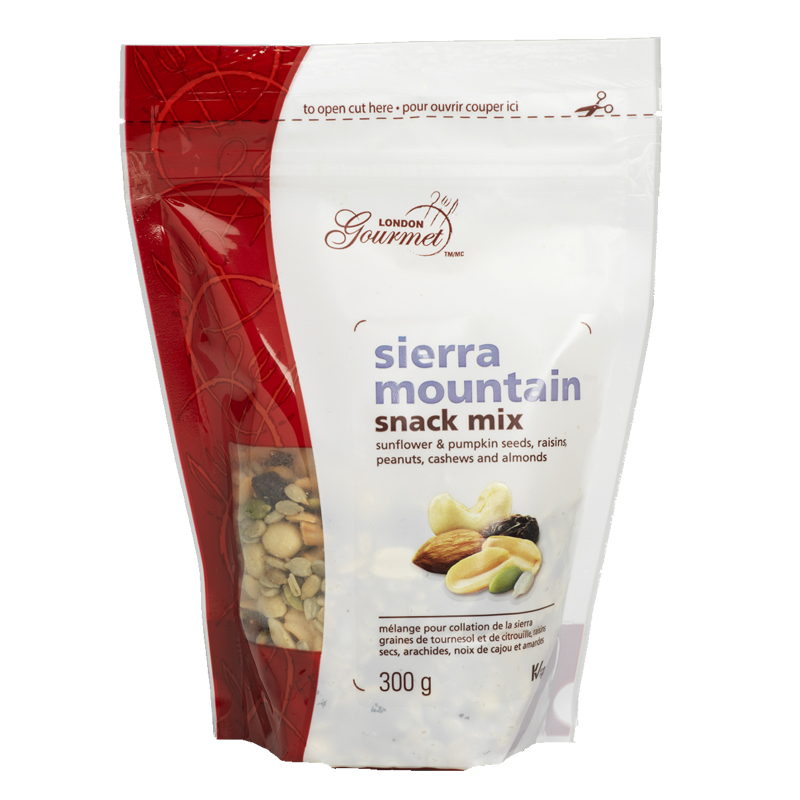 London Gourmet Snack Mix - Sierra Mountain - 300g