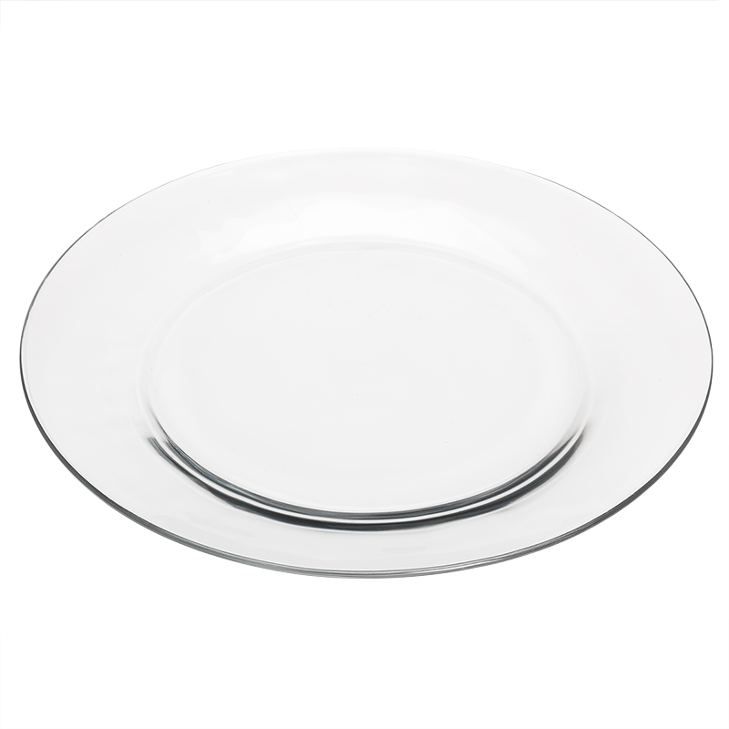 Moderno Dinner Plate - Clear - 10.6inch