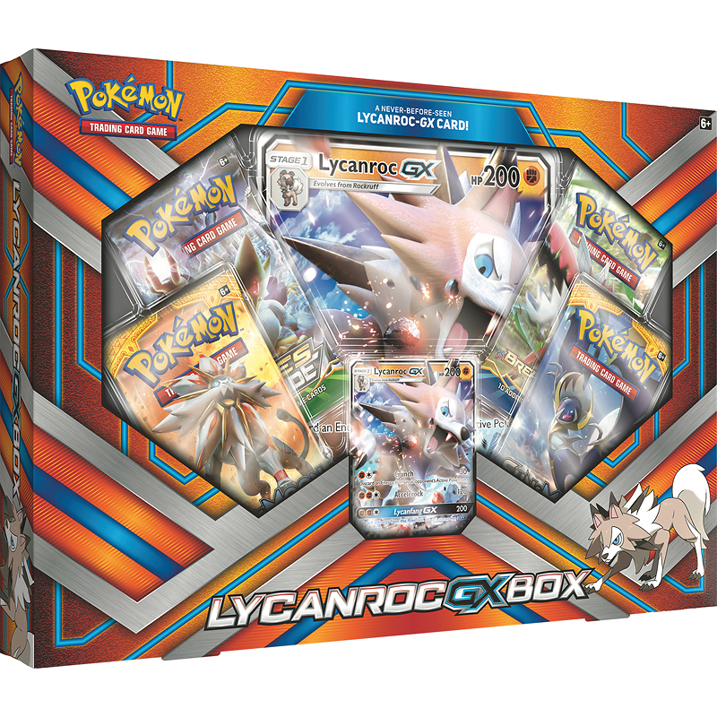 Pokemon Lycanroc-GX Box - Assorted