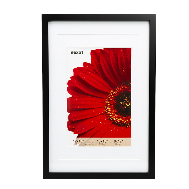 Nexxt by Linea Gallery Frame - 12x18-inch - Black